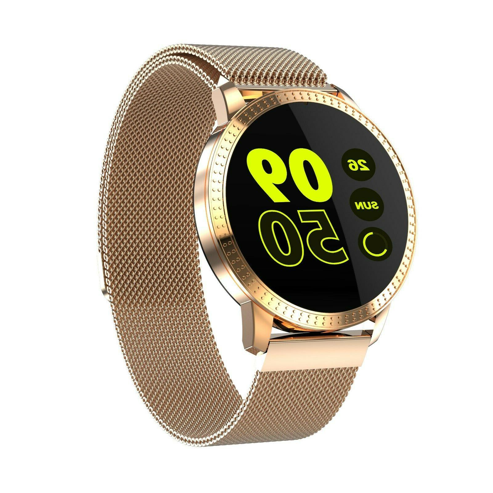 smart watch heart rate blood pressure fitness