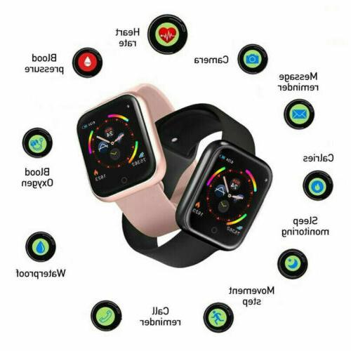 Smart Watch Tracker Step Calorie Fit
