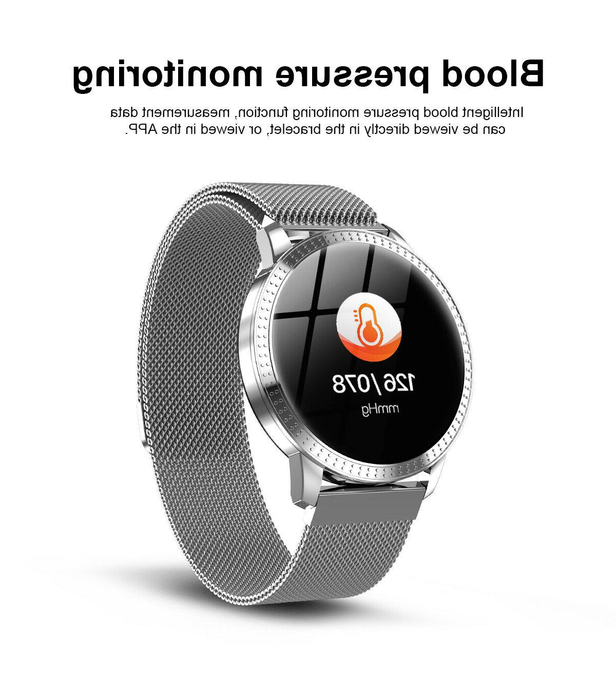 BLUETOOTH SMART WITH CALORIE STEP COUNTER NOTIFICATIONS NO