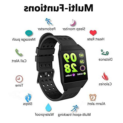 Smart Watch All-Day Heart Rate Smartwatch with Battery Tracker 8 Sports Mode,Step Kids