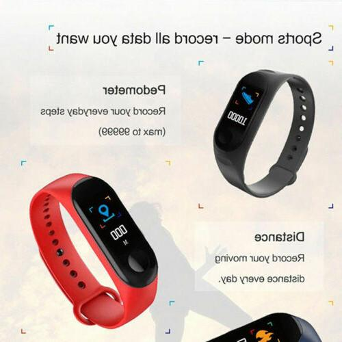 Smart Heart Rate Monitor Pressure Fitness