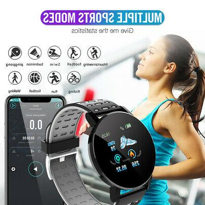 Sport Smart Watch Heart Rate Blood Monitor Fitness