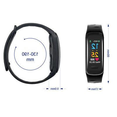 Sports Pressure/Heart Monitor Watch Wrist Bracelet