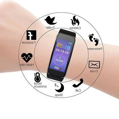 Sports Monitor Fitness Smart Watch Wrist