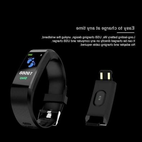 Sports Fitness Tracker pressure Heart Rate Smart Watch