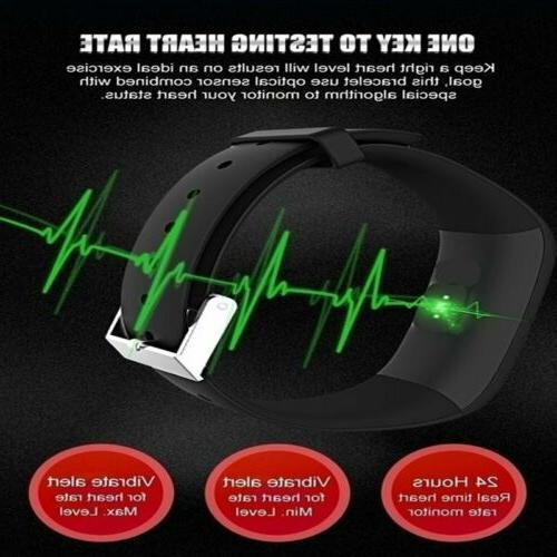 Sports Fitness pressure Rate Monitor Smart Wristband