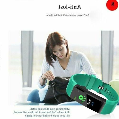 Sports Fitness Tracker Blood pressure Smart Watch