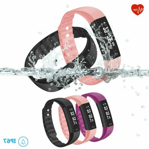 Sports Tracker Smart Watch With Heart Rate