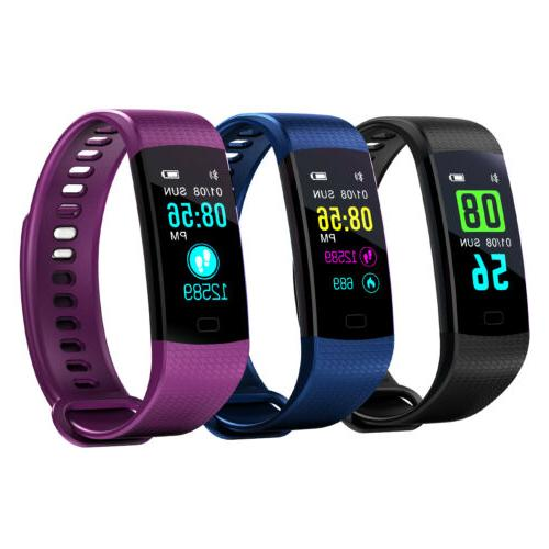 Fitness Activity Watch with Heart Rate Blood Monitor