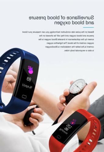 Fitness Watch with Heart Blood Monitor