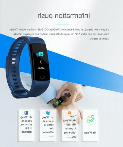 Fitness Tracker Sports Watch with Blood