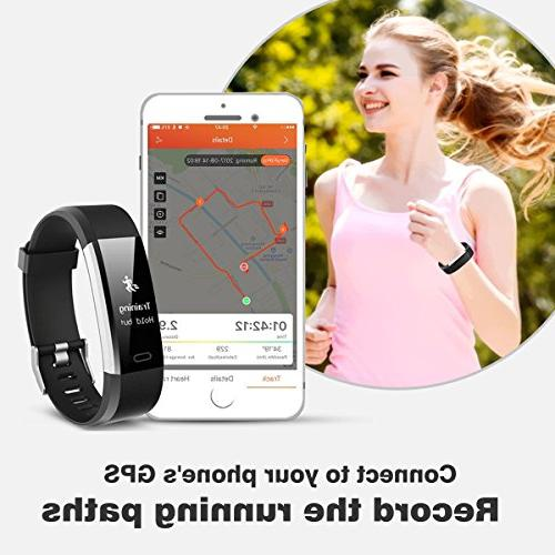 + Heart Rate Waterproof Wristband Watch Android iOS