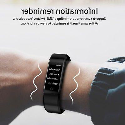 US Watch Heart Rate Trackers Step Wristband