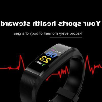 US Watch Wristband Heart Rate Monitor Fitness