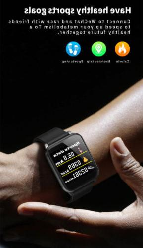 Waterproof Blood Heart Monitor Android