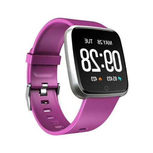 Y7 Smart Watch Heart Rate Sports Activity