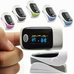 Led Fingertip Finger Pulse Oximeter Spo2 Heart Rate Monitor