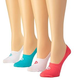 Champion Women's Performance Liner Socks 4-Pack Pink Bloom A