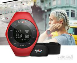 Polar M200 GPS Running Watch, Red, One Size