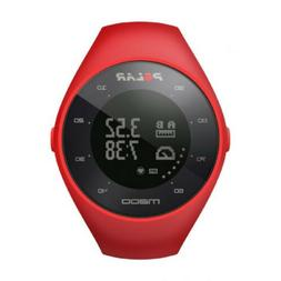 POLAR M200 GPS RUNNING WATCH WITH HEART RATE MONITOR  RED