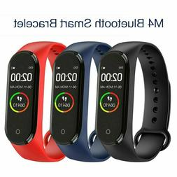 M4 Smart Watch Band Heart Rate Blood Pressure Monitor Tracke