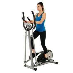 EFITMENT Magnetic Elliptical Machine Trainer w/LCD Monitor a