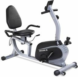 Magnetic Recumbent Exercise Bike Indoor Cycling Stationary B
