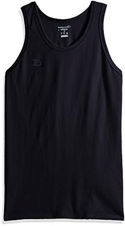 Champion Men's Classic Jersey Ringer Tank Top, Navy, 2XL