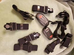 Mixed Lot of 8 Polar Heart Rate Monitor Straps Various Sizes