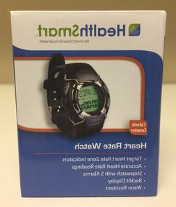 NEW: HealthSmart #857-304-000 Heart Rate Monitor Watch & Cal