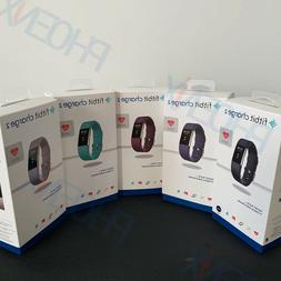 New Fitbit Charge 2 Heart Rate Monitor Fitness Tracker Wrist