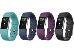 New Fitbit Charge 2 Heart Rate Monitor Activity Tracker Fitn