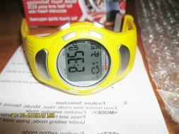 NEW BOWFLEX EZ PRO HEART RATE MONITOR WATCH -Yellow NEW in B