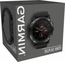 NEW Garmin Fenix 5x Plus GPS watch Sapphire HEART RATE Monit
