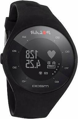 POLAR M200 GPS RUNNING WATCH WITH HEART RATE MONITOR  BLACK
