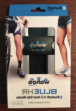 New Sealed Wahoo Fitness Blue HR Bluetooth 4.0 Heart Rate Mo