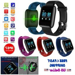 New Smart Watch Blood Pressure Heart Rate Monitor Fitness Sp