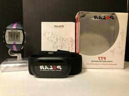 Open Box Lilac Polar FT7  Heart Rate Monitor Transmitter & C