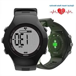 EZON Optical Heart Rate Monitor Outdoor Sports Waterproof Fi