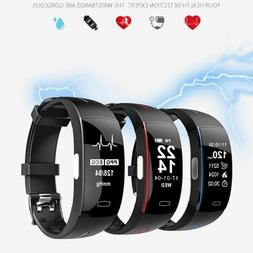 P3 ECG+PPG Smart Watch Blood Pressure Pedometer Heart Rate M