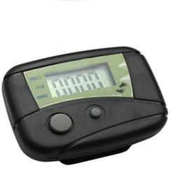 LCD Step Pedometer Walking Calorie Counter Distance