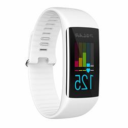 PLRA360WHTM Polar A360 Fitness Tracker, Medium/6 - 7.8, Whit