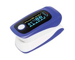 TrackAid Premium Portable Finger Oxygen Saturation and Pulse