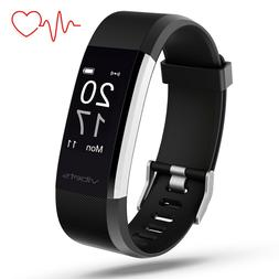 Vibets Pulse Fitness Tracker with Heart Rate Monitor, Activi