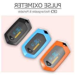 Rechargeable Digital Pulse Oximeter OLED Display Blood Oxyge