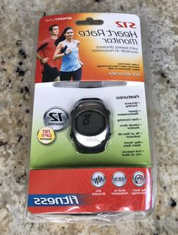 Sportline S12 Any Touch Pedometer Heart Rate Watch