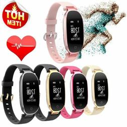 S3 Ladies Heart Rate Fitness Tracker Sports Smart Watch IP67