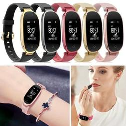 S3 Women Smart Watch Lady Bracelet Waterproof Sport Heart Ra