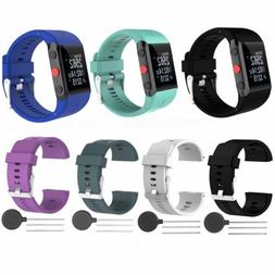 Silicone Replacement Wrist Band Strap for Polar V800 Sport F