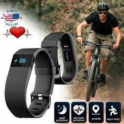 Wireless Smart Band Bracelet Wristband Heart Rate Pedometer